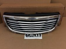2011-2015 Chrysler Town & Country Front Upper Chrome Grille new OEM 68100692AB