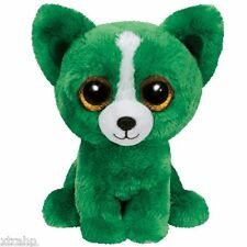 Ty Beanie Boos Dill The Green Dog Plush Toy Doll