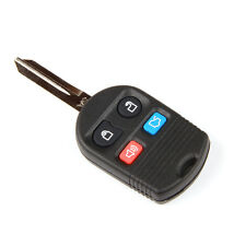 New 4BTN Blank Uncut Keyless Remote Combo Key Shell for Ford Fob Lincoln Mercury