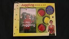 Brand New Juggling 48-Page Book By Dave Finnegan & Kit With 3 Non-Bounce Balls