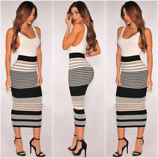 UK Womens Bodycon Cocktail Bandage Dress Ladies Party Evening Dress Size S