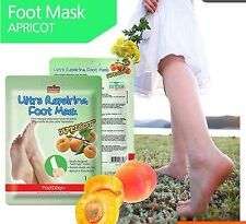 PUREDERM Ultra Repairing APRICOT Foot Mask,socks type mask,rough,dry feet,1 pair