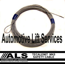 tecalemit mk5 2 Post Lift Safety Cable Car Vehicle Lift Ramp Hoist Spares Parts