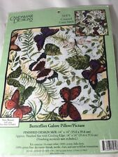 Cross Stitch Kit ~ Candamar Butterflies Galore Pillow or Picture #51571