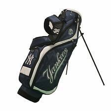 BRAND NEW Team Golf New York Yankees Nassau Golf Stand Bag Navy/White 96827