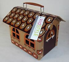KidStyle Brown Cabin Carrying Case ~ Toy Storage, Play, Collecting, Display