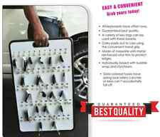 Car Dealer Key Board Key Case Safety Hook Board Key Control, 32 Keys