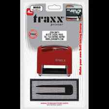 DIY Rubber Stamp Kit Self Inking Traxx 8052 You Personalize