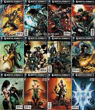 MORTAL KOMBAT X (12) Comic Set #1 2 3 4 5 6 7 8 9 10 11 12 Blood Ties God Island