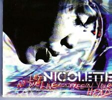 (EK40) Nicolette, Let No-One Live Rent Free In Your Head - double CD