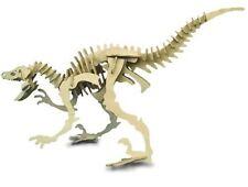 VELOCIRAPTOR: Woodcraft Costruzione Legno dinosaur3d Modello Kit CX 214