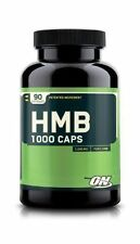 Optimum Nutrition HMB 1000 mg Amino Acid BCAA Strength & Size - 90 Capsules