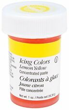 Wilton 610-108 1-Ounce Icing Gel,Lemon Yellow,richer color(Certified Kosher) AOI