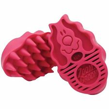 Kong Zoom Groom soft pink dog toilettage brosse