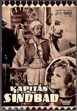KAPITÄN SINDBAD / NFP 3096 Wien / Guy Williams, Heidi Brühl, John Crawford