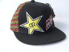 "Metal Mulisha /Rockstar Cap ""Front Face"" Flexfit Hat L/XL - BNWT"