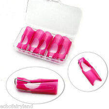 5stk/set Reusable Nagel Form For Acryl UV Gel Tips Extension Finger Halter
