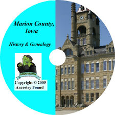 History & Genealogy of MARION COUNTY IOWA Knoxville Pella IA Family Biographies