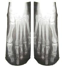 1 paire 3D crâne os chaussettes nouveauté chaussettes pour hommes drôle chaussettes idées de cadeaux