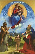 Vaticano 2012  BF Foglietto 500 anni  Madonna DI FOLIGNO RAFFAELLO