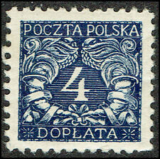 Scott # J23 - 1919 - ' Numerals of value ', For Southern Poland