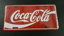Coca-Cola License Plate Vintage New Sealed USA FREE Shipping