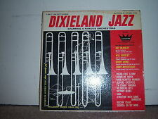 "Waldorf Music Hall 33-1234 Various Artists - Dixieland Jazz 1960's 12"" 33 RPM"