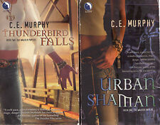 Complete Set Series - Lot of 7 Walker Papers books by C.E. Murphy (Paranormal)