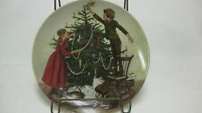 Christmas Limited Edition #1166 Collectible Plate 1983 From Edwin M Knowles  NEW