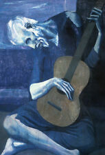 QUALITY CANVAS ART PRINT * PABLO PICASSO * The Old Guitarist