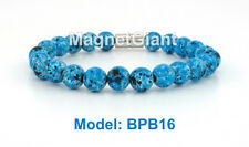 Blue - High Power Magnetic Pearl Bracelet  for health & beauty