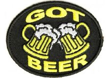 LOT OF 5 - GOT BEER EMBROIDERED PATCH