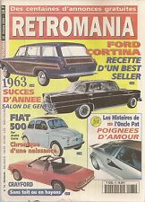 RETROMANIA 75 CARROSSERIE CRAYFORD La FORD CORTINA POIGNEES DE PORTES FIAT 500