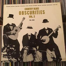 COUNTRY BLUES OBSCURITIES VOL.2 LP