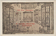 NEVER SEEN B4, ARDLEA COURT 51ST ST, ANTIQUE STORE ADVERTISING CARD MANHATTAN NY