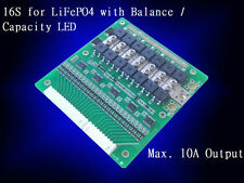 Battery Protection BMS PCB Board for 16 Packs 48V LiFePO4 Cell max 10A Balance