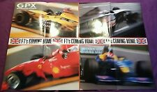 Collectable Large GPX Magazine British Grand Prix Formula 1 Double Sided Poster