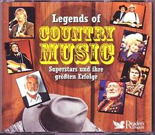 Legends of Country  -  Reader's Digest  5 CD Box  OVP
