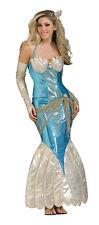 SEXY Deluxe Damen Kostüm NIXE Meerjungfrau Mermaid blau Gr.Std(36/40)