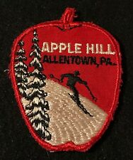 APPLE HILL Lost Ski Area 1963-88 Skiing Patch Allentown Pennsylvania PA Travel