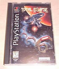 Total Eclipse Turbo Playstation 1 PS1 Long Box complete psx one original