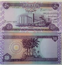 IRAQ POST SADDAM 2003 50 DINAR UNCIRCULATED BANKNOTE P-90 BUY FROM A USA SELLER
