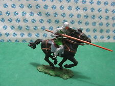 Vintage -  NORMAN  with Horse  70 mm.   -  Elastolin  8855 B