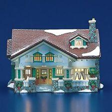 Dept 56 Snow Village® Craftsman Cottage American Architecture Series BRAND NEW