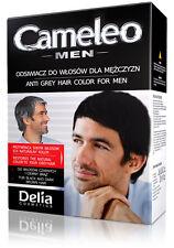 DELIA MEN HERREN Anti Grau Haartönung Gel BEHANDLUNG schwarze / dunkel Haare