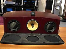 B&W NAUTILUS HTM1 ROSEWOOD CENTER SPEAKER-GREAT CONDITION- W/ORIG BOX