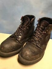 RED WING 2245 Brown Leather Steel Toe Biker Ankle Work Grunge Boots USA Mens 7.5