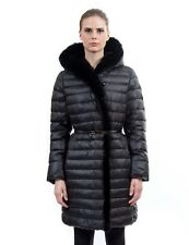 * Goose Down Coat Jacket Parka Пуховик w/ Mink Fur &Rabbit sz 3XL EU 52 $895 NWT
