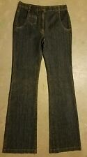 Excellent Condition Dark wash Size 27x34 Womans HELENA SOREL Extreme Flare Jeans