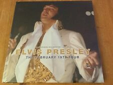 Elvis Presley - The February 1977 tour book and cd